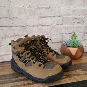 HI-TEC Lady Sawtooth Suede Lace Up Hiking Boot 5.5